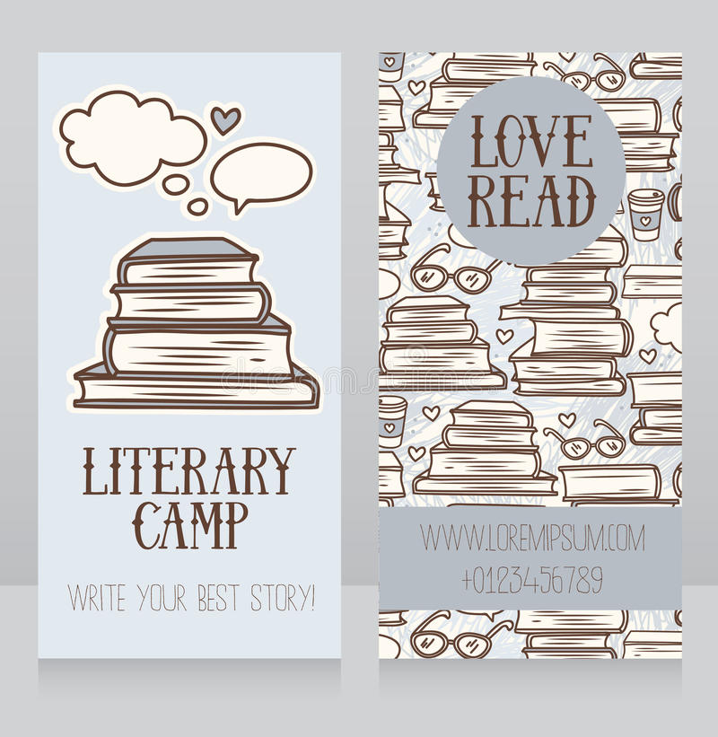library book card template