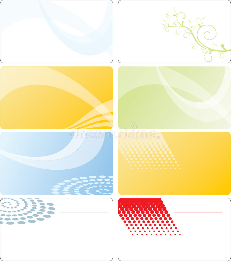 Download Business Card Template Design Stock Vector - Image: 9287935
