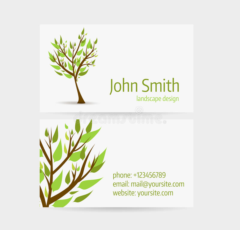 business card template stock vector illustration of media 51619329