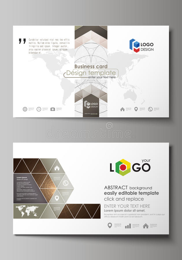 Business Card Layout Template