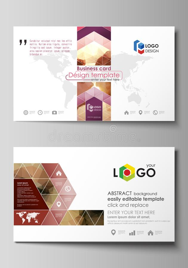 Business card templates easy editable layout abstract vector download business card templates easy editable layout abstract vector design template beautiful background accmission Choice Image