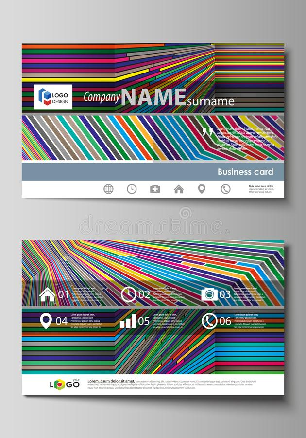Business card templates easy editable layout abstract vector download business card templates easy editable layout abstract vector design template bright color wajeb Gallery