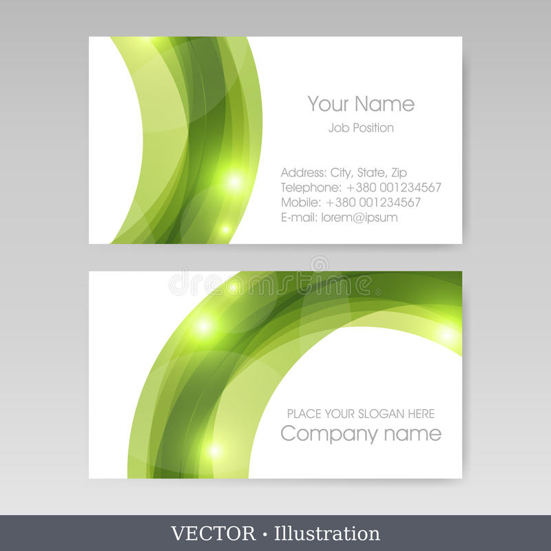 Business card templates vector illustration stock vector download business card templates vector illustration stock vector illustration of classic corporate reheart Gallery