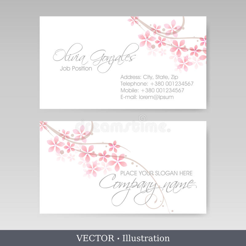 Download Business Card Templates. Vector Illustration Stock Vector - Illustration: 28843383