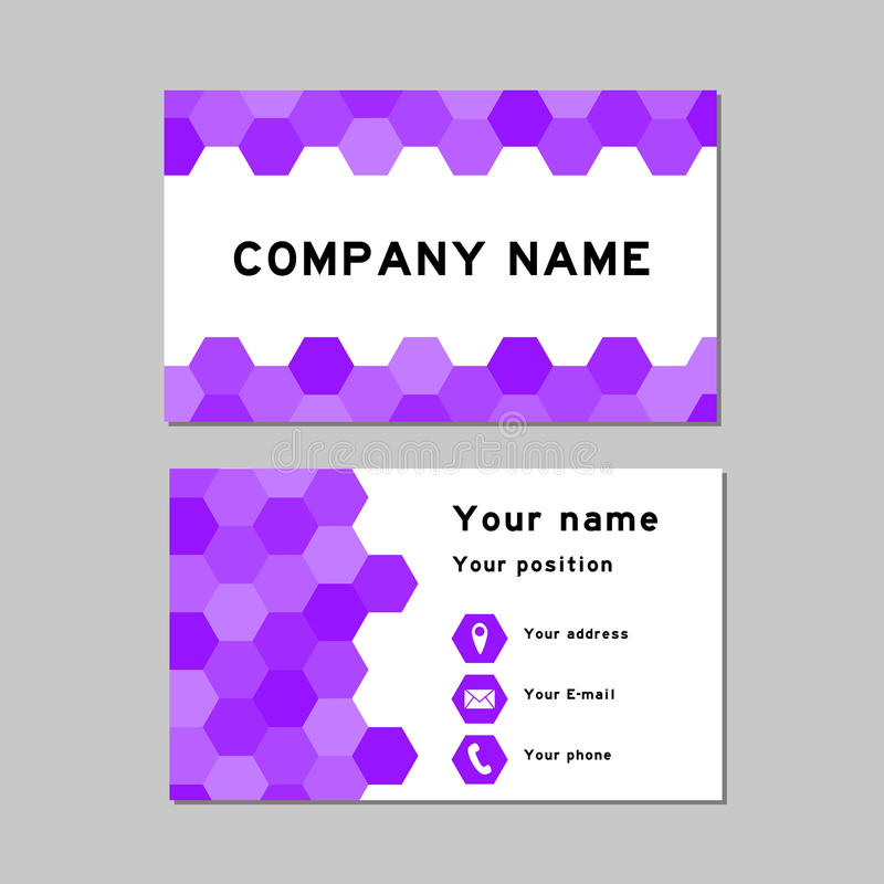 Business card temple stock vector. Illustration of creative - 69729397