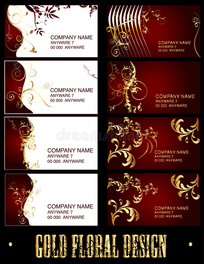 Business card - vector stock image