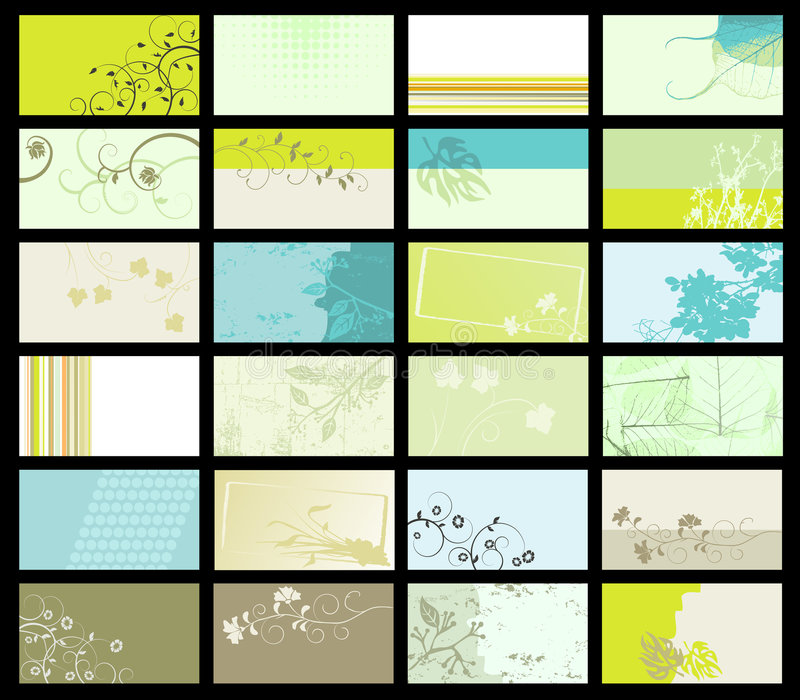 Download Business Card - Vector Collection Stock Vector - Image: 8687538
