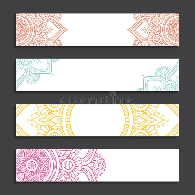 Business card. Vintage decorative elements. Hand drawn background royalty free illustration