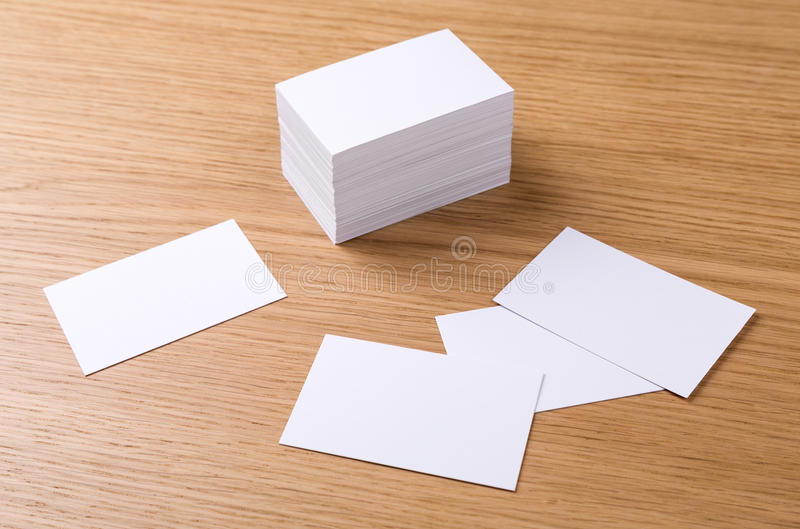 Business cards royalty free stock photography