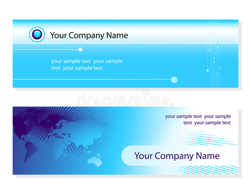 Download Business cards stock vector. Image of abstract, connection - 4942587