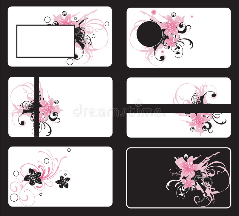 Download Business cards stock vector. Image of stylish, abstract - 6106331