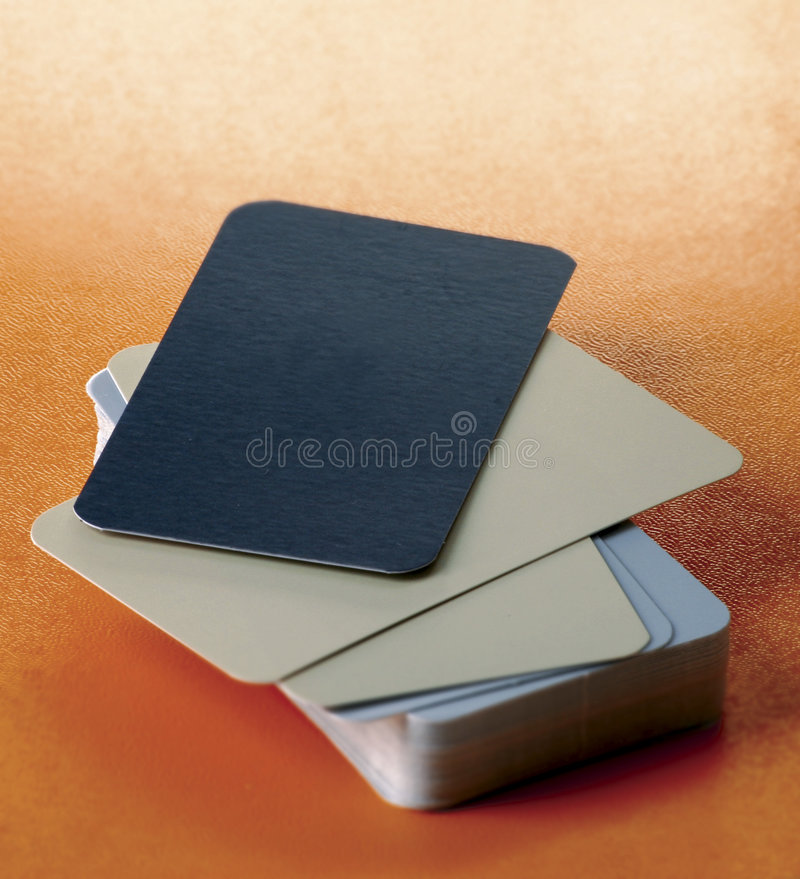 Business cards royalty free stock image