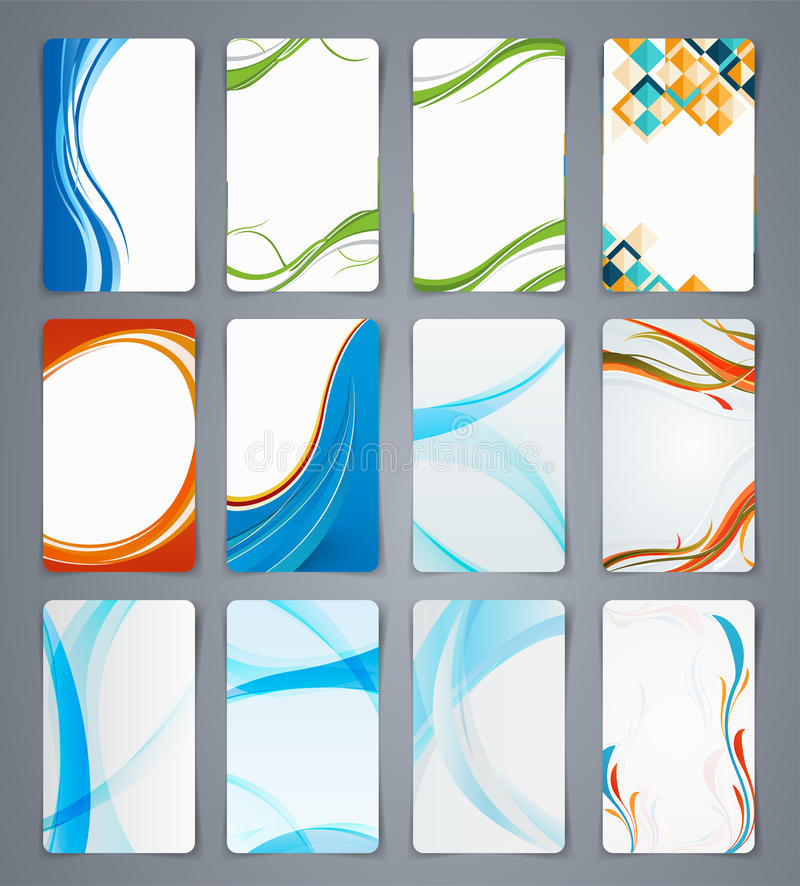 Business Cards, Brochures Or Banners. Stock Vector - Image: 44243258