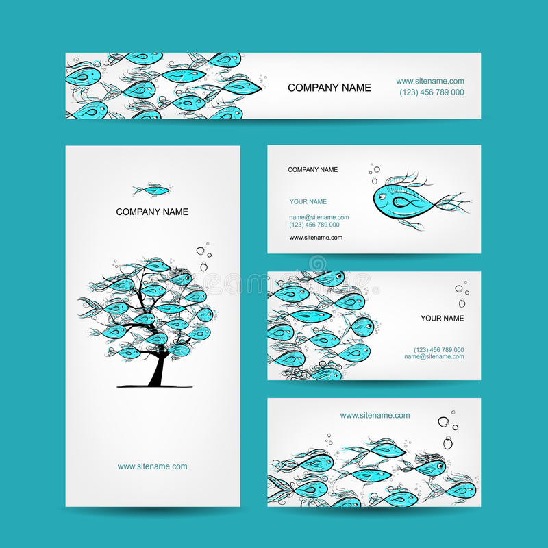 Business cards design marine theme stock vector illustration of download business cards design marine theme stock vector illustration of design beauty colourmoves