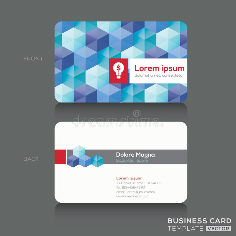 Download Business Cards Design Template Stock Vector - Image: 37485087