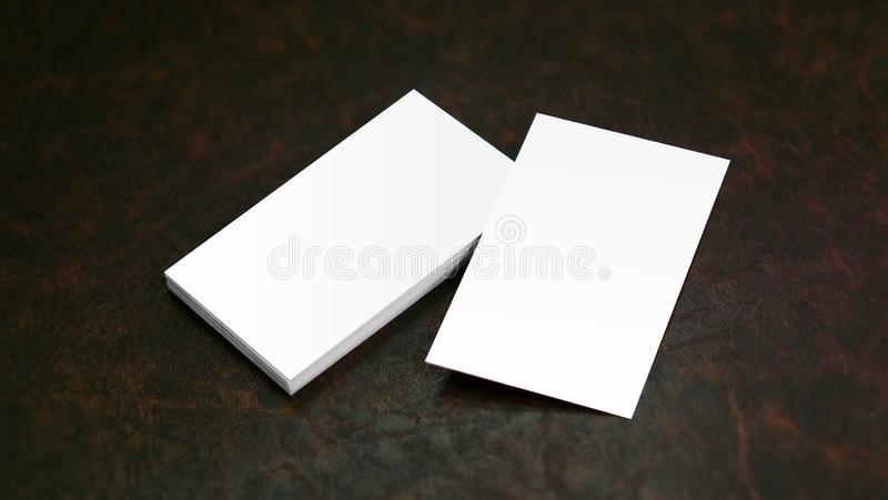 Business Cards mock up stock image