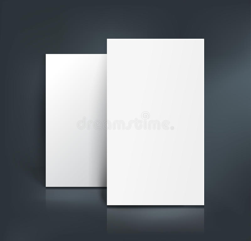 Business Cards Mockup. Vector Illustration Stock Vector ...