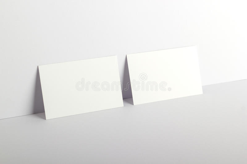 Business cards. Photo of business cards. Business cards Template for branding identity. Business cards For graphic designers presentations and portfolios stock photography