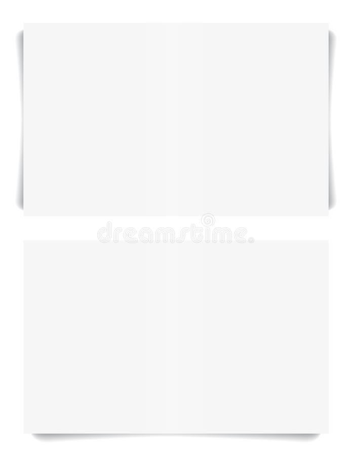Download Business Cards With Shadow. Stock Vector - Image: 24371193