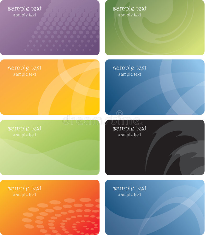 Download Business Cards Template Design Stock Vector - Image: 9286519