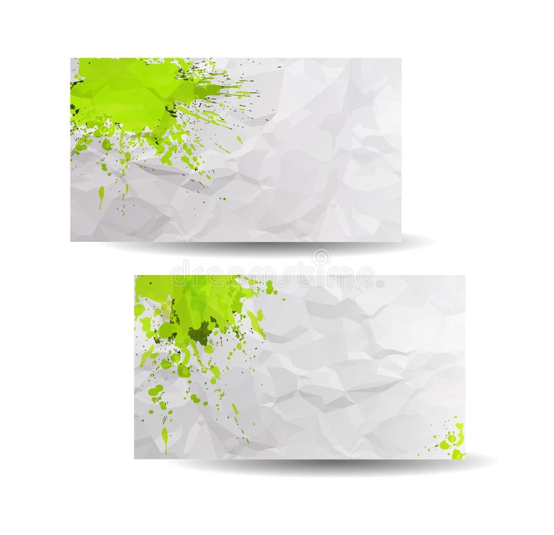 Business cards template with yellow abstract spray paint paper download business cards template with yellow abstract spray paint paper background stock vector colourmoves