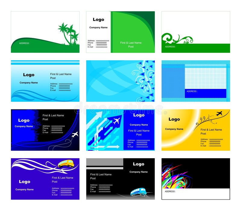 Download Business Cards Templates Royalty Free Stock Photo - Image: 7397975