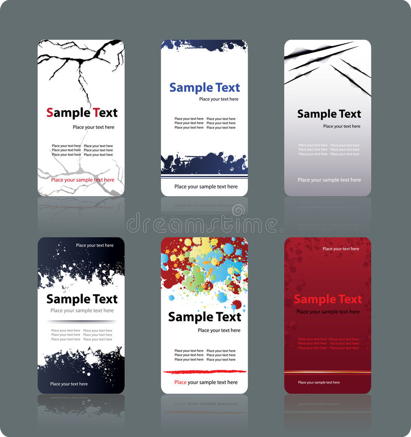 Download Business cards templates stock vector. Illustration of background - 9236580