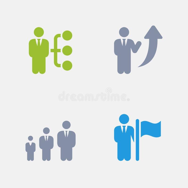 Business Career - Granite Icons stock illustration