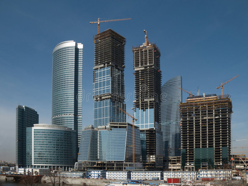 Download Business Center Building Site Stock Photo - Image: 4969070