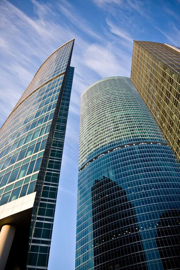 Download Business center buildings stock photo. Image of exterior - 7565308