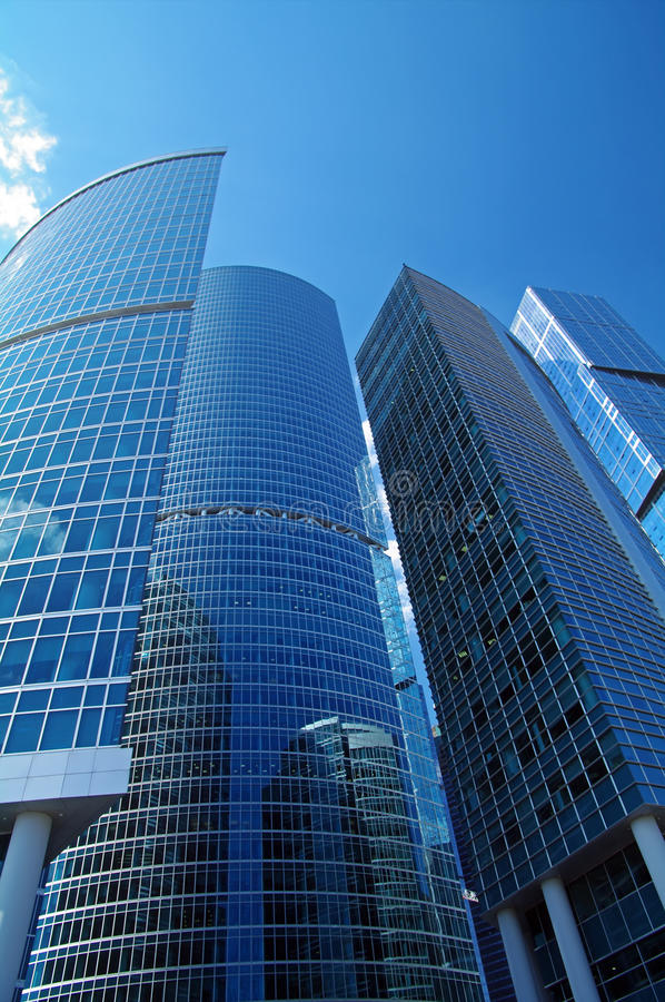 Download Business Center Moscow City. Stock Photo - Image of reflex, shine: 25688950