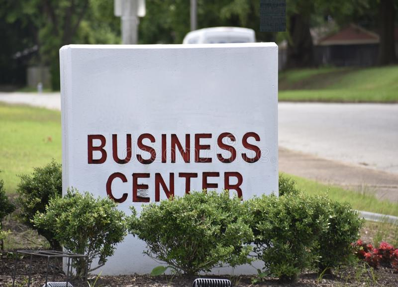 Business Center Professional Office Park stock images