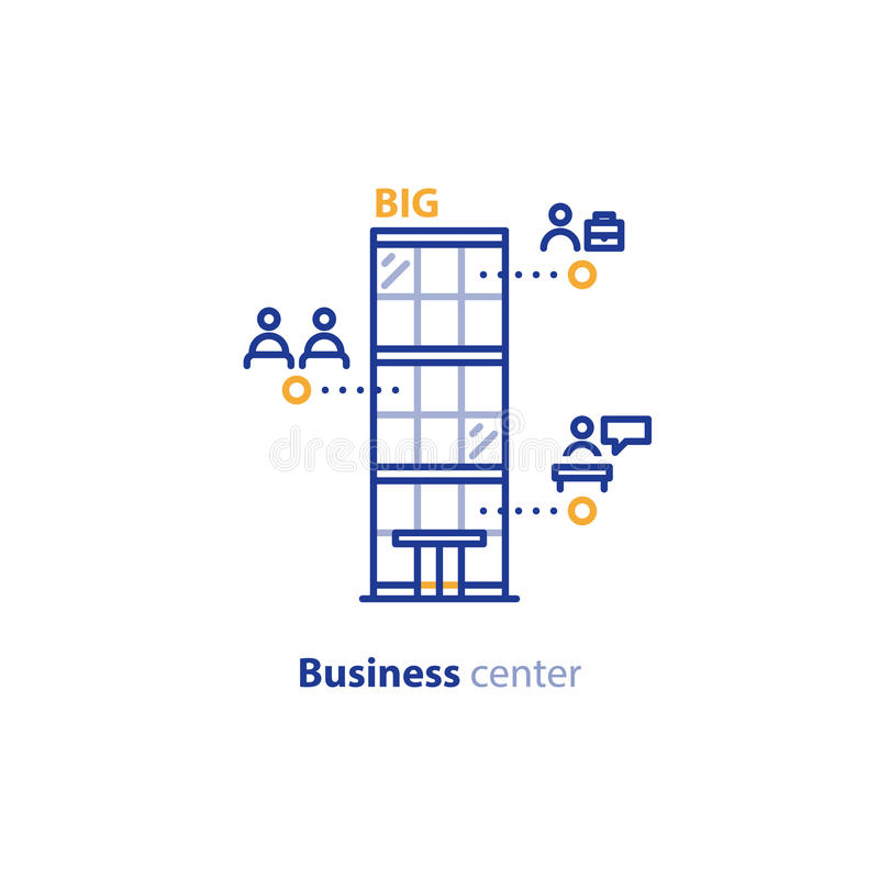 Free Business Center Services, Glass Modern Building, Financial Center Stock Photography - 95895232