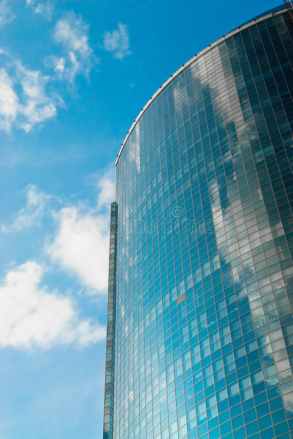 Business centre. Glass and steel of new business centre building royalty free stock image