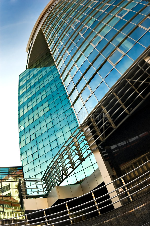 Business centre in chisinau royalty free stock images