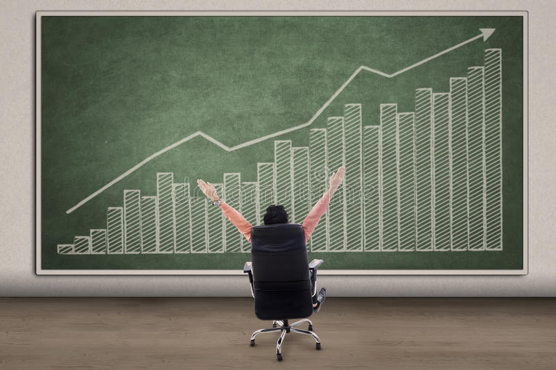 Download Business CEO Success Concept On Chalkboard Stock Image - Image: 32306349