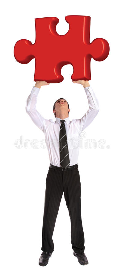 Business challenge royalty free stock image