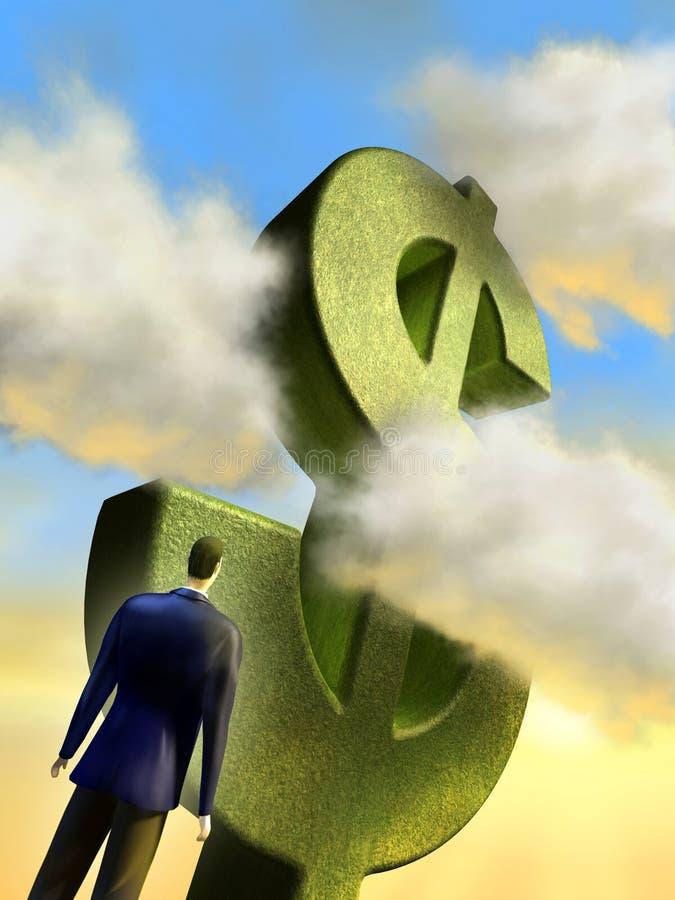 Download Business challenge stock illustration. Illustration of dollar - 15296379