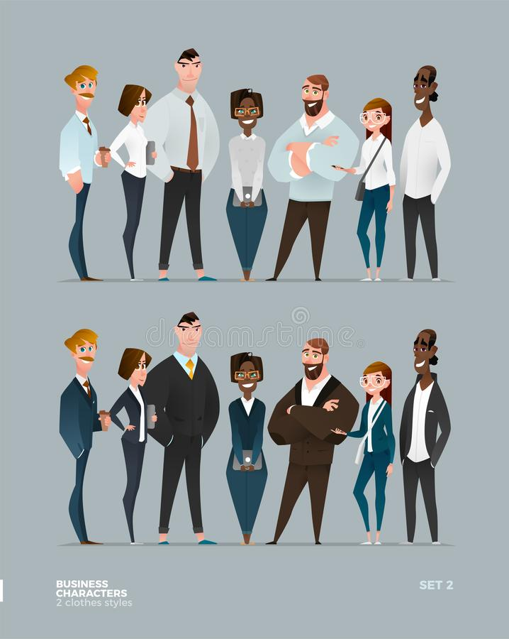 Free Business Characters Collection Stock Photos - 135261773