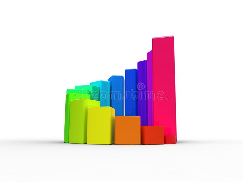 Download Business chart stock illustration. Image of illustration - 26603451