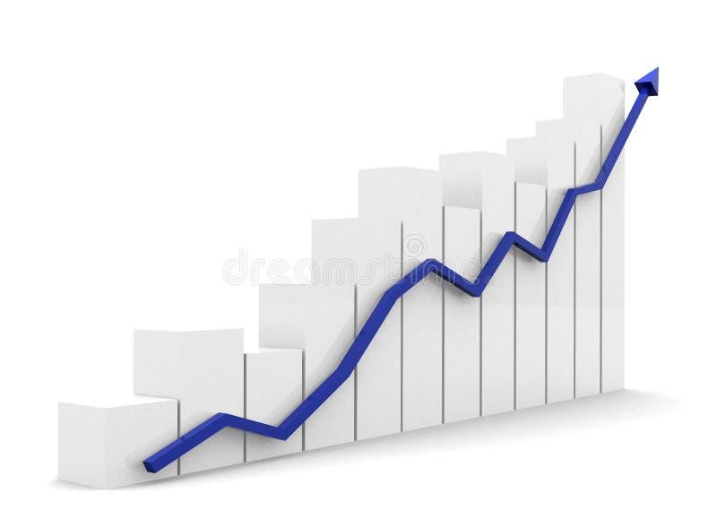 Download Business chart stock illustration. Illustration of share - 4409309