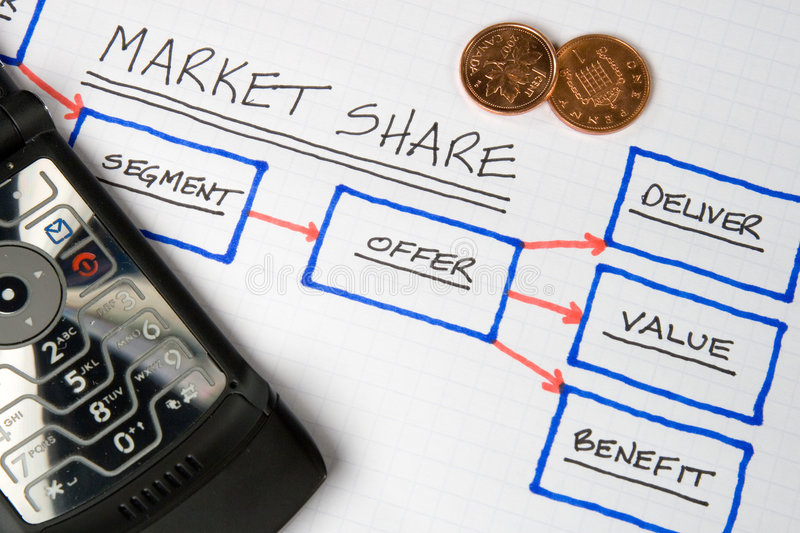 Business Charts & Graphs royalty free stock image