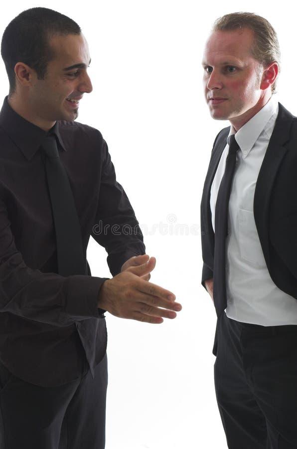 business chat στοκ φωτογραφίες