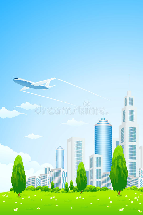 Download Business City stock vector. Illustration of business - 25665548