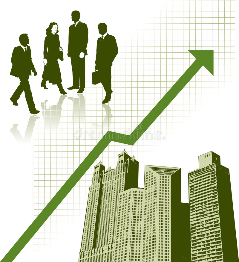 Download Business city stock vector. Image of growth, successful - 4762883