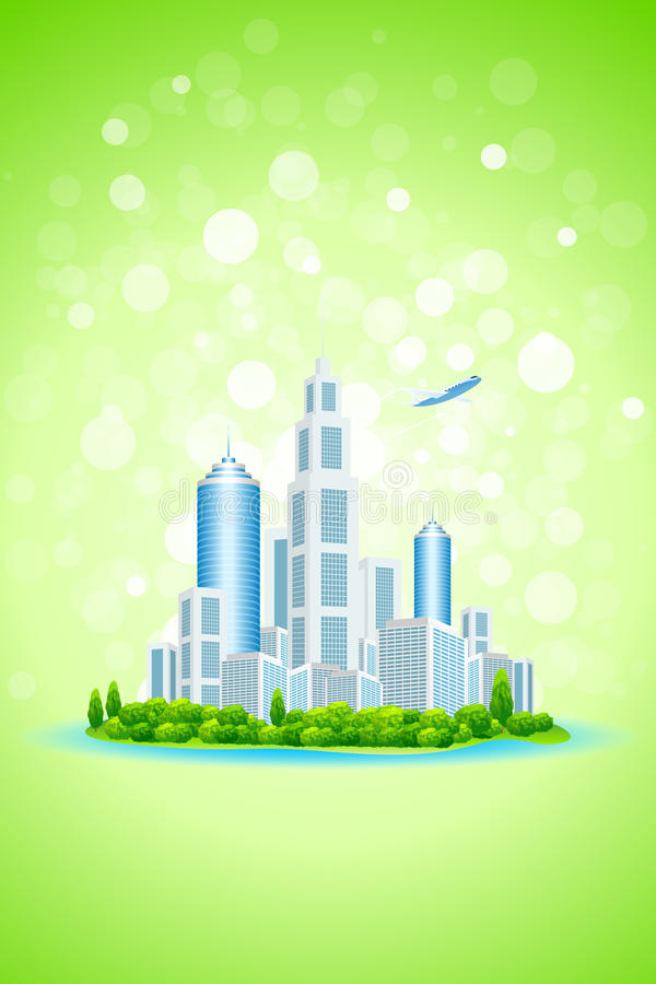 Download Business City Island stock vector. Image of nature, city - 25598033