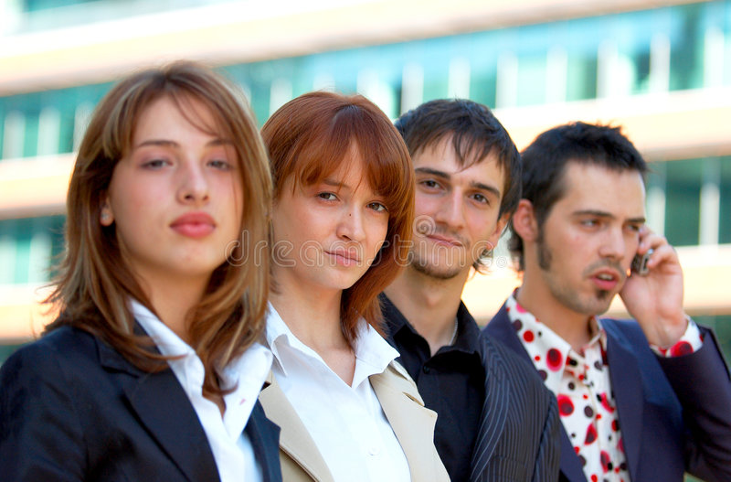 Business Co-Workers 2 stock image