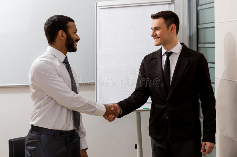 Business coach. royalty free stock photography