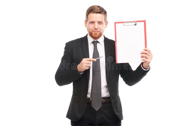 Business coach stock image