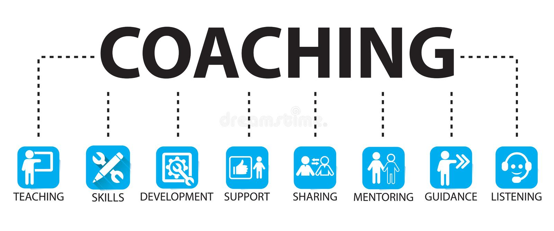 Business Coaching Leadership Mentoring Concept. Vector Illustration vector illustration